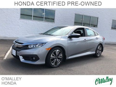 Certified Pre-Owned 2016 Honda Civic Sedan EX-T