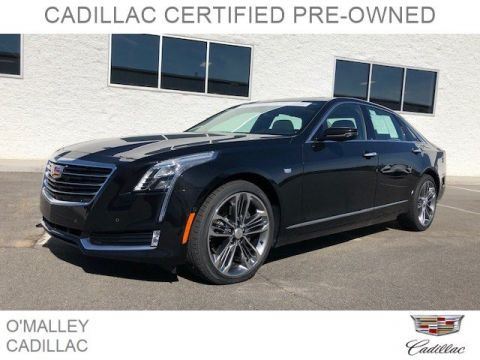 Certified Pre-Owned 2018 Cadillac CT6 Premium Luxury AWD