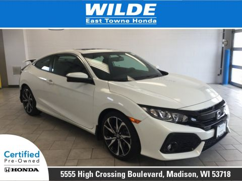 Certified Pre-Owned 2017 Honda Civic Si